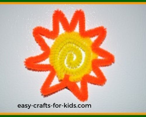 sunshine magnet craft