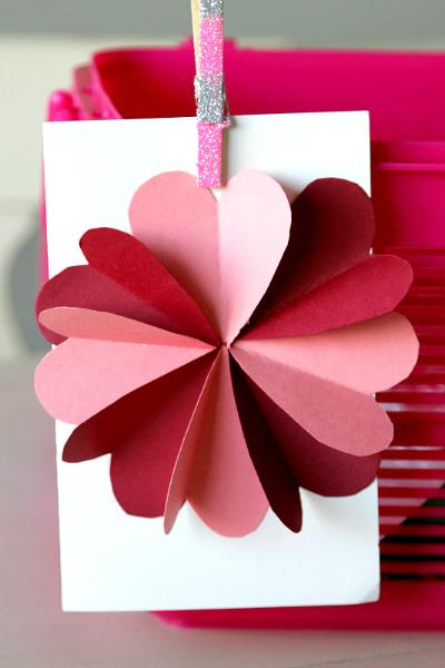 DIY Flower By Hearts Card Tutorial -
