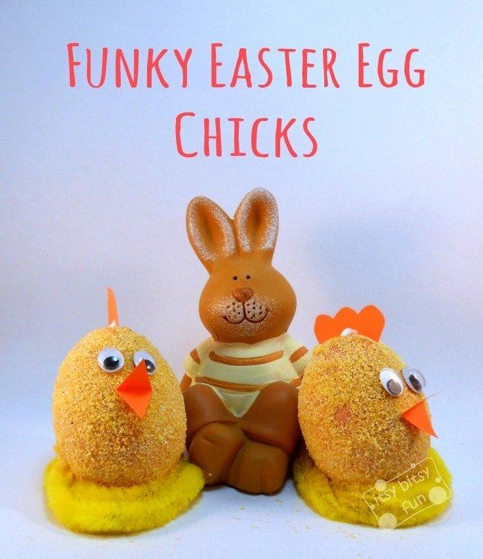 Easter Egg Craft - Little Chicken