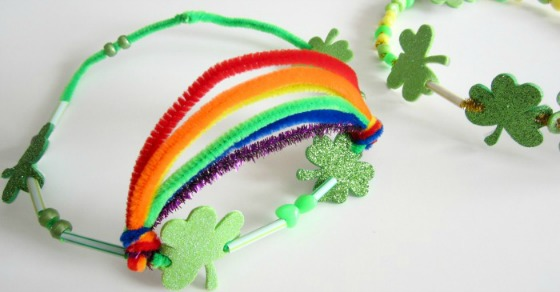 Kids St Patrick Craft Crown