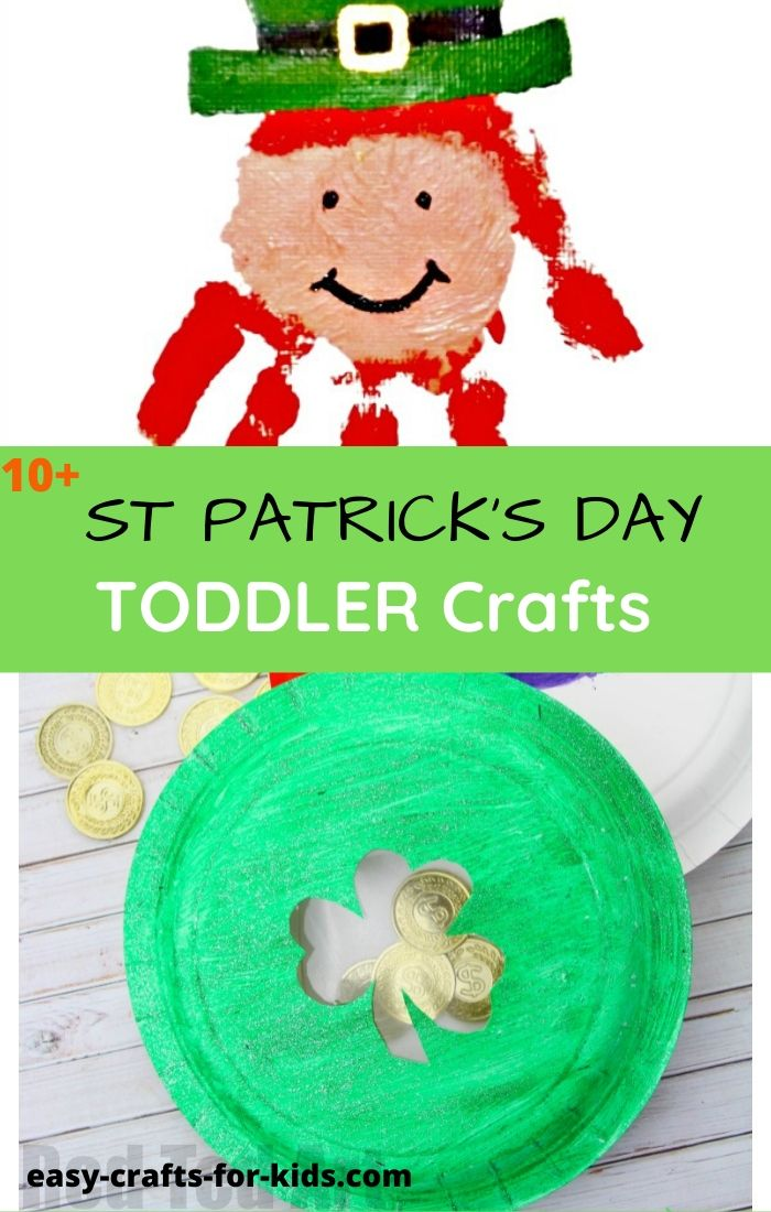 St Patrick's crafts for toddlers
