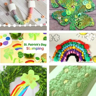 Saint Patrick crafts for toddlers