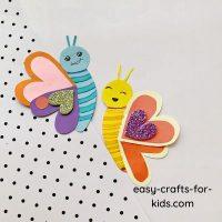 Valentine's Day Butterfly Craft