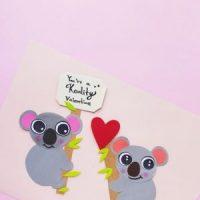 Koala Bear Craft For Valentine's Day