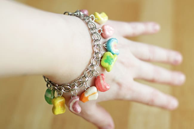 Lucky Charms Bracelet for St. Patrick's Day Fun
