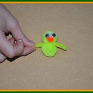 pom pom chick craft