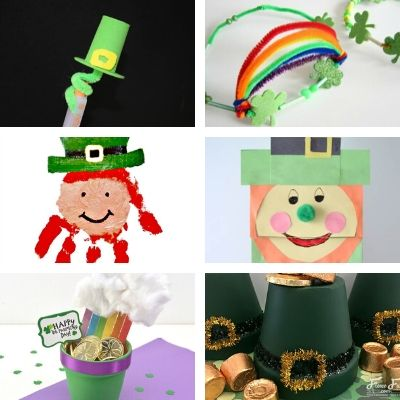 st patricks kids crafts