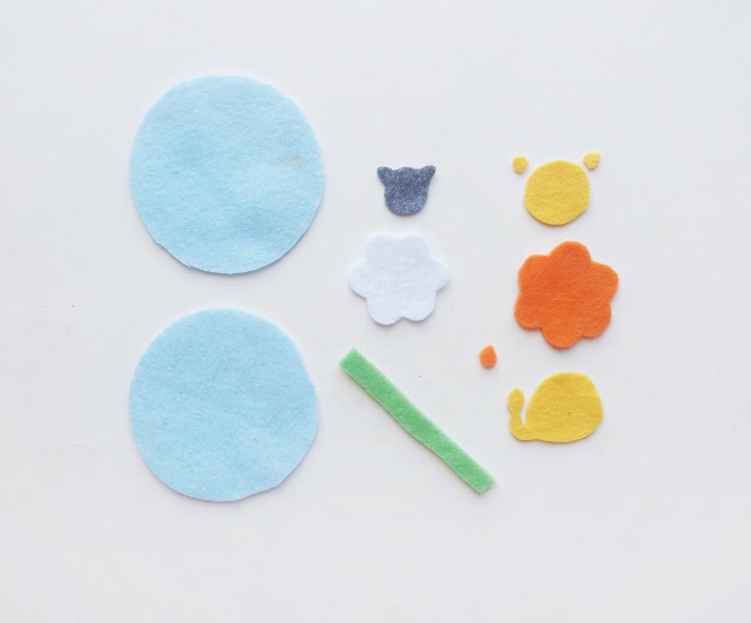 lion lamb ornament craft supplies