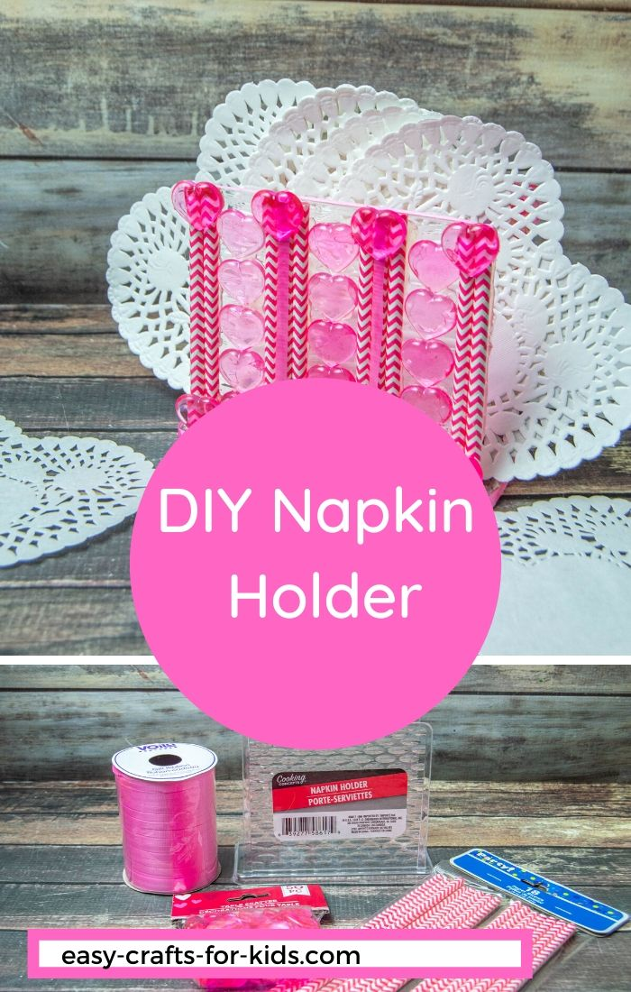 DIY Napkin Holder for Valentine's Day