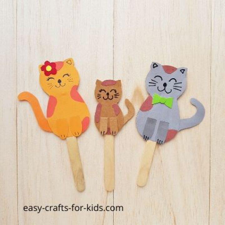 cat paper crafts