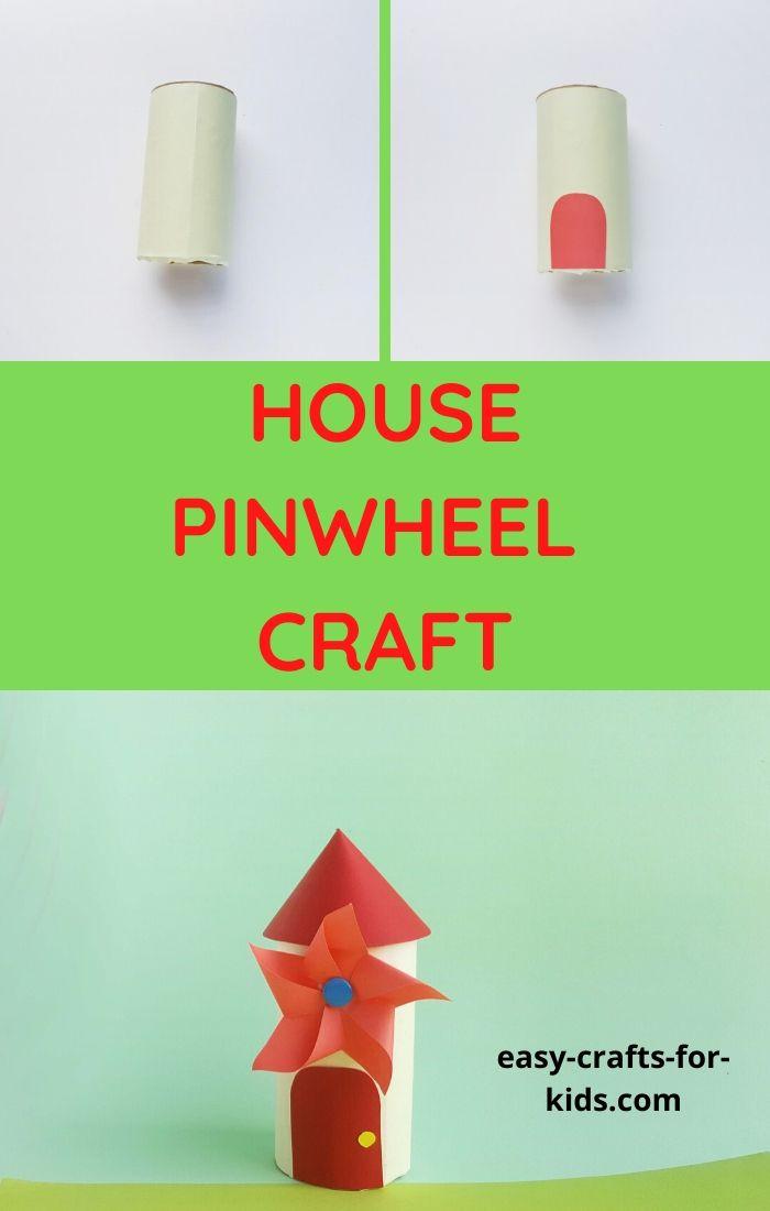 House Pinwheel Craft