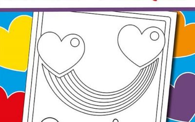Printable Rainbow Coloring Page