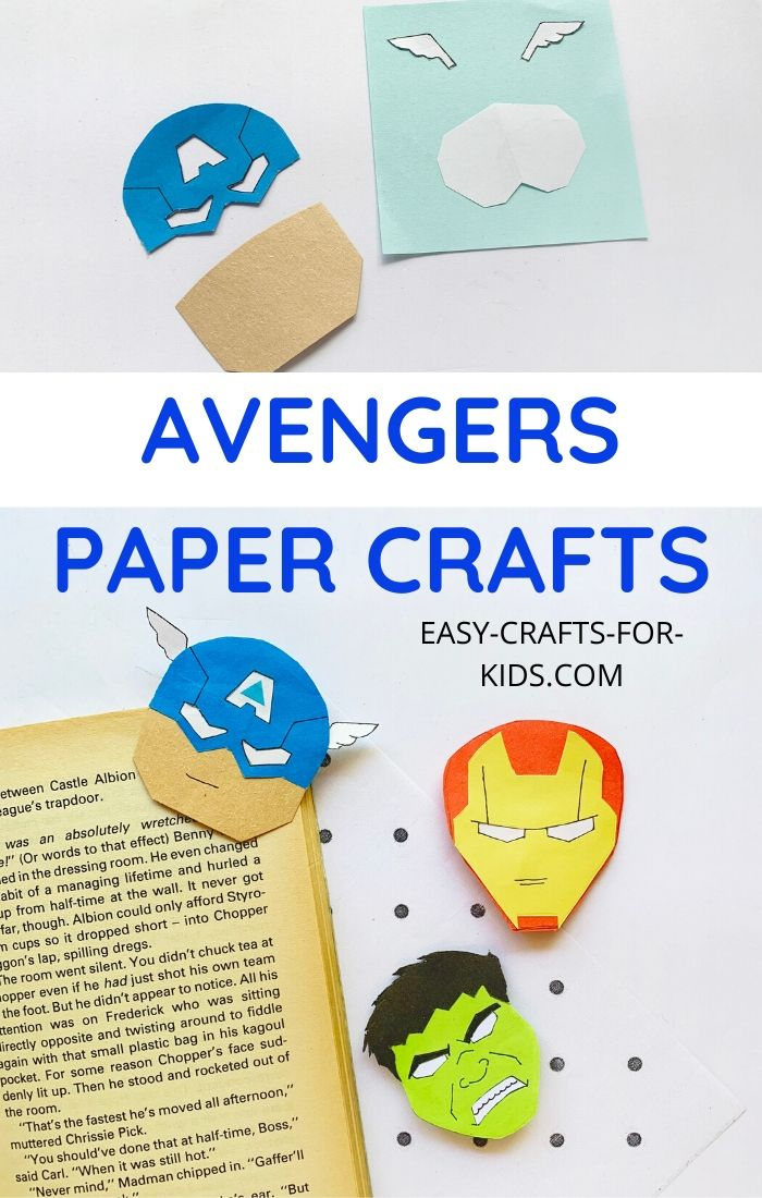 avengers paper crafts