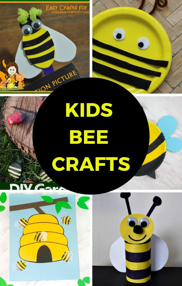 bee crafts for kids