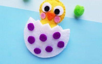 diy easter chick plush