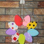 easter egg wreath craft