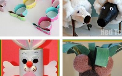 easter paper roll crafts