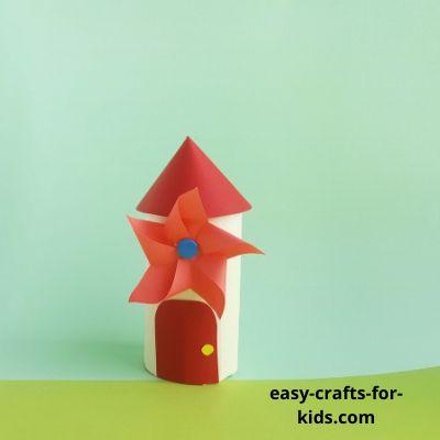 pinwheel house craft