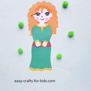 Princess craft with merida
