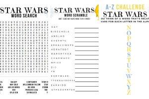 STAR WARS ACTIVITIES