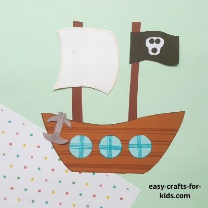 easy pirate ship