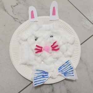 rabbit preschool craft