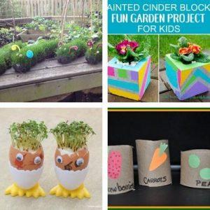 Gardening crafts for children