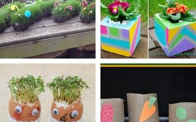Gardening crafts for children
