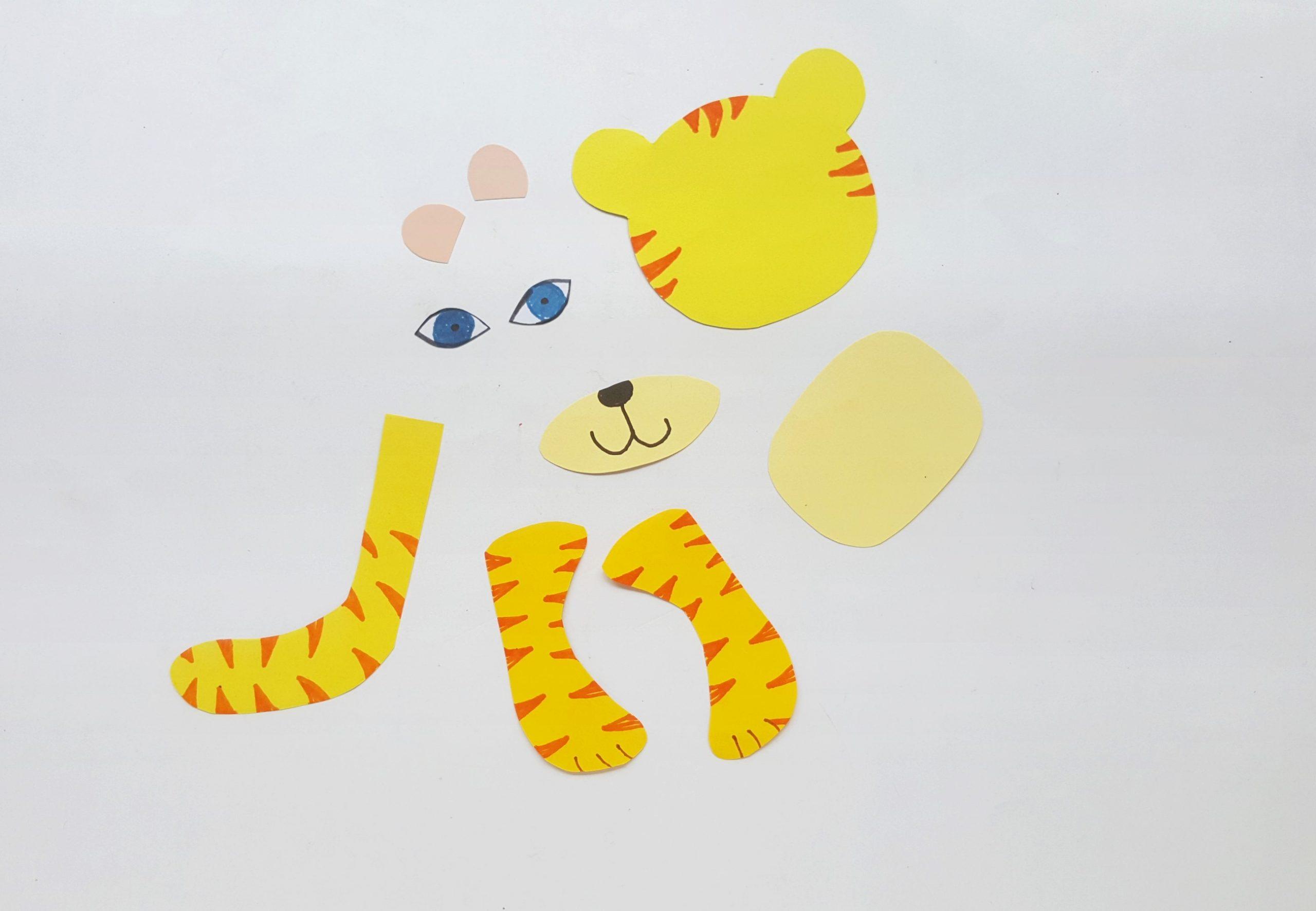 Tiger Toilet Paper Roll Craft Procedure