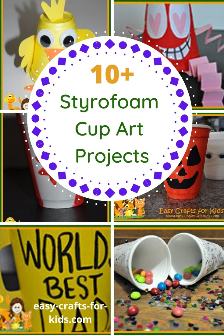 Styrofoam Cup Art Projects