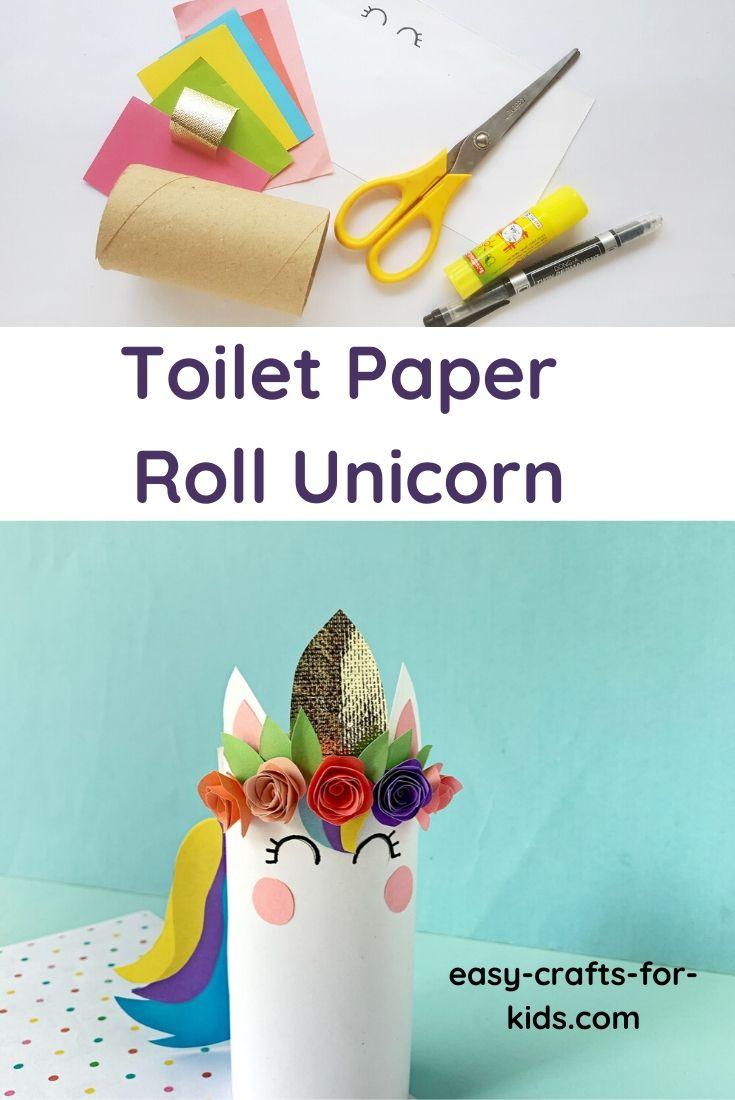 Toilet Paper Roll Unicorn