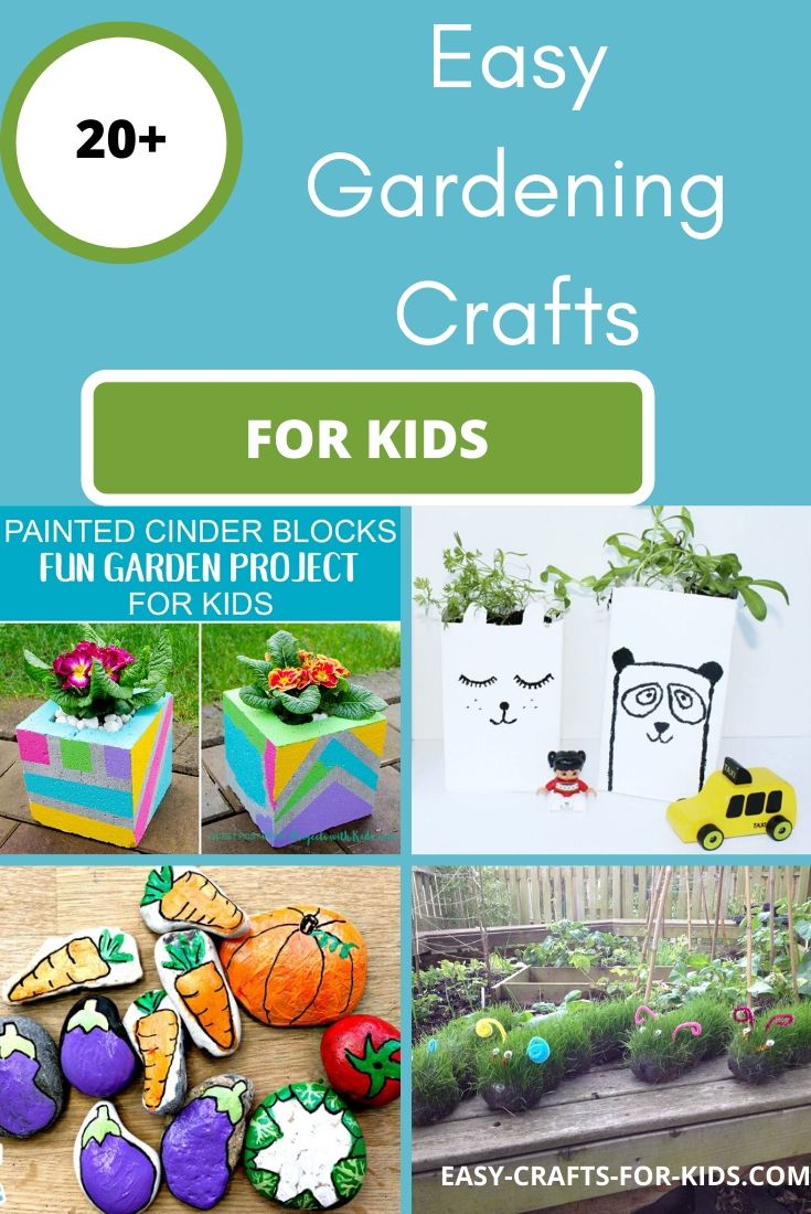easy gardening crafts for kids