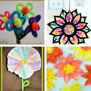 flower crafts for children