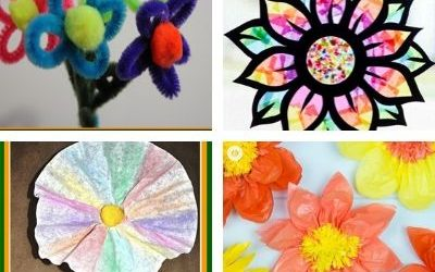 flower crafts for children