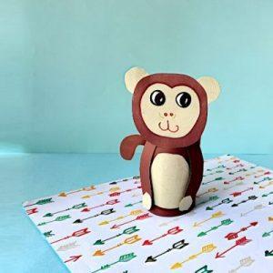 paper roll monkey