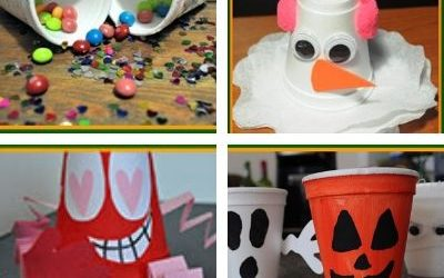 styrofoam cup crafts