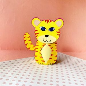 tiger toilet paper roll craft