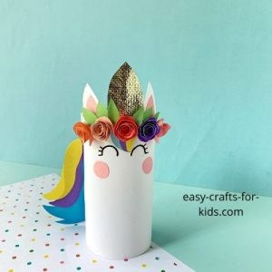unicorn craft with toilet paper roll