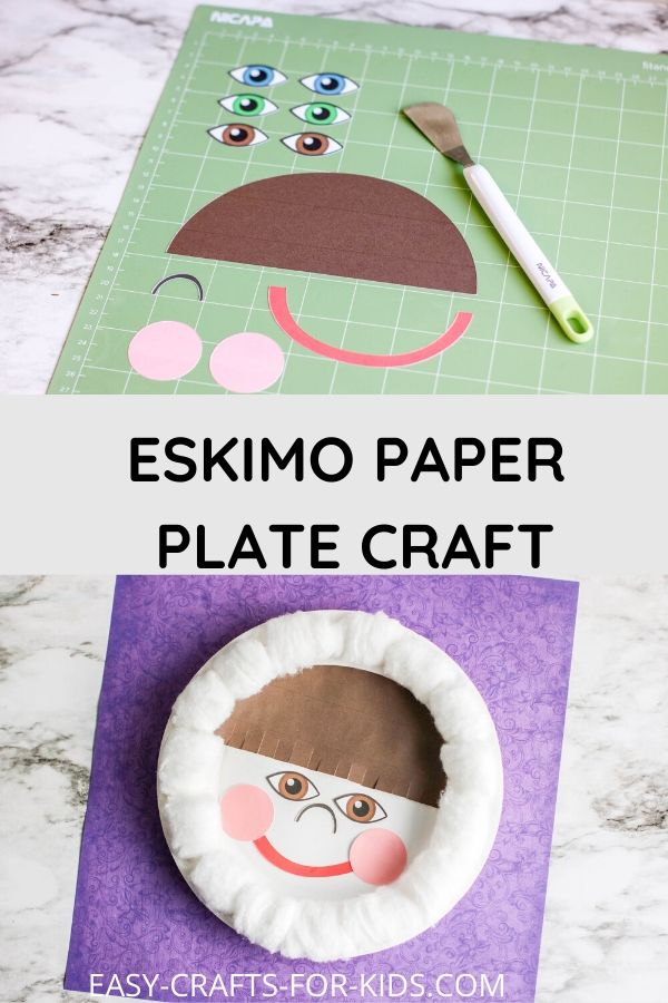 Eskimo Craft With Paper Plate