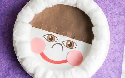 eskimo paper plate craft