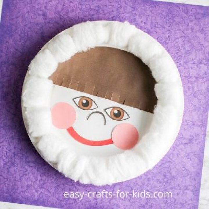 eskimo paper plate craft
