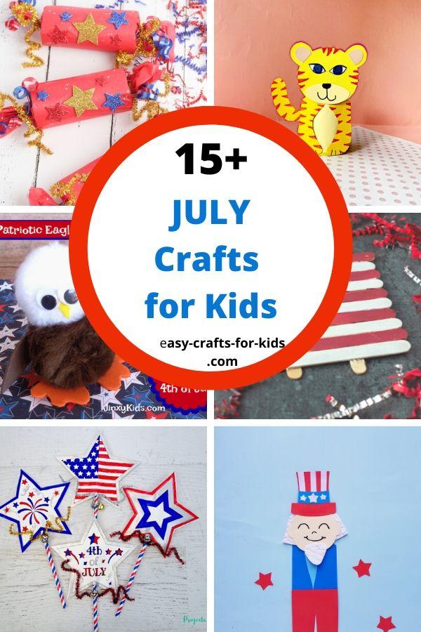 july crafts for kids