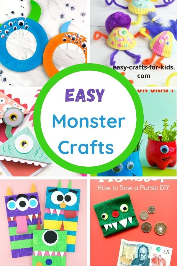 Easy Monster Crafts for Kids
