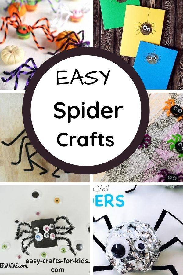 Easy Spider Crafts for Kids
