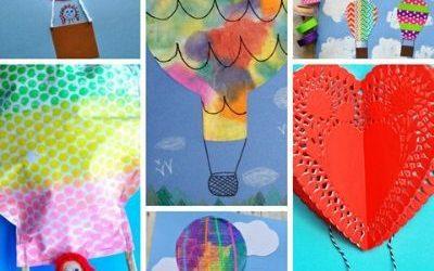 Hot Air Balloon arts and crafts