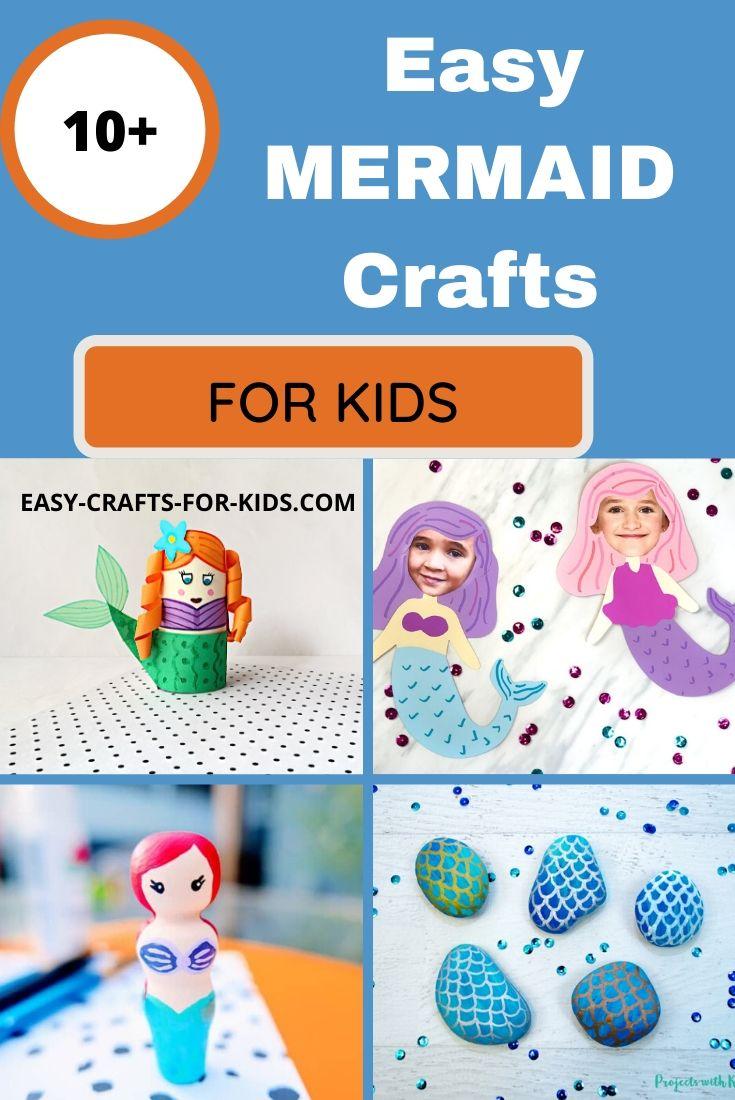 Mermaid Crafts for Kids