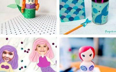 Mermaid crafts for children