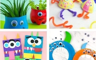 monster crafts for children