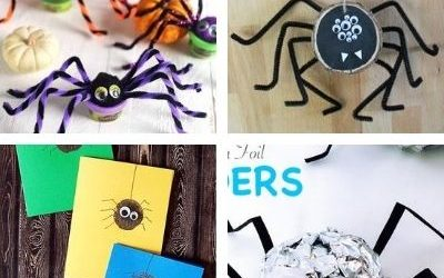 spider crafts for children