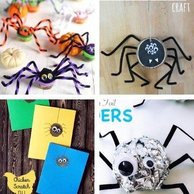 spider crafts for children